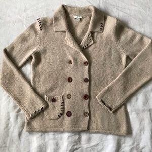 J. Jill // Angora + Wool Cardigan Sweater